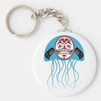 PULSE OF OCEANS BASIC ROUND BUTTON KEYCHAIN