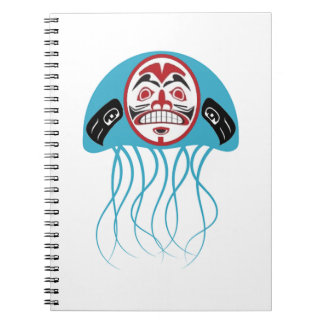 PULSE OF OCEANS SPIRAL NOTE BOOK