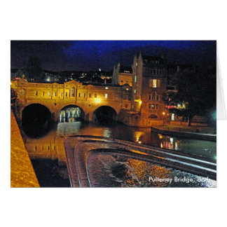Pulteney Bridge, Bath Card