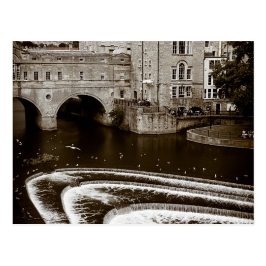 Pulteney Weir Bath Postcard