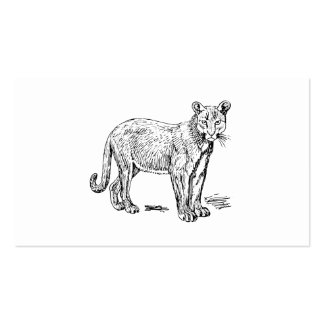 Puma Cartes De Visite Professionnelles