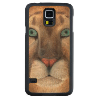 Puma Carved Maple Galaxy S5 Case