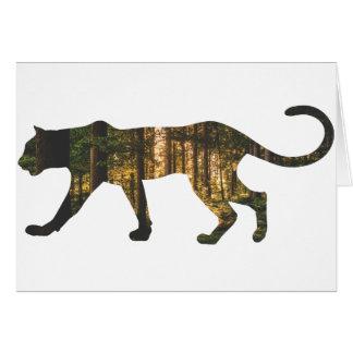 puma-in-forest card