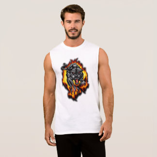 puma sleeveless shirt