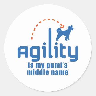 Pumi Classic Round Sticker