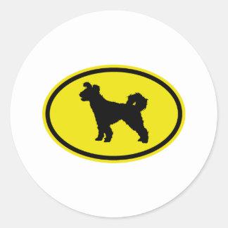 Pumi Round Sticker