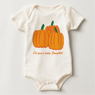 Pumkins, I'm just a little Pumpkin! Baby Bodysuit
