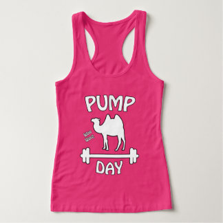 Pump Day! Fitness Humor Tank Top