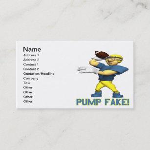 Fake business cards profile cards zazzle ca pump fake business card colourmoves