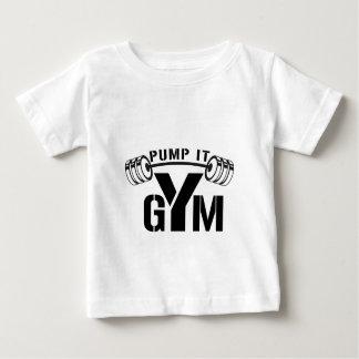 pump it gym baby T-Shirt