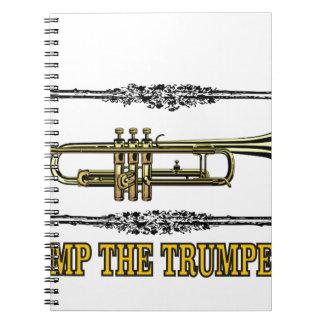 pump the trumpet art notebooks
