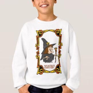 Pumpiks and hghots, tricks or treats! sweatshirt