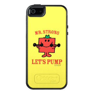 Pumping Iron With Mr. Strong OtterBox iPhone 5/5s/SE Case