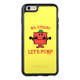 Pumping Iron With Mr. Strong OtterBox iPhone 6/6s Plus Case