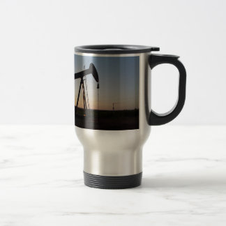 Pumping Unit in West Texas Travel Mug