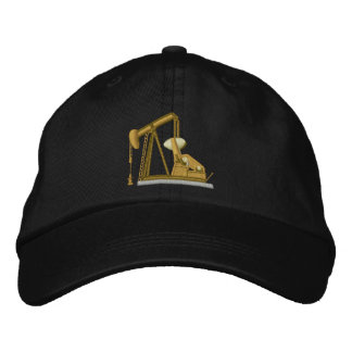 Pumpjack Zazzle Embroidered Hat