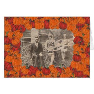 Pumpki Patch Pix Greeting Card