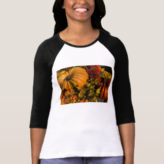 Pumpkin And Mum Arrangement T-Shirt