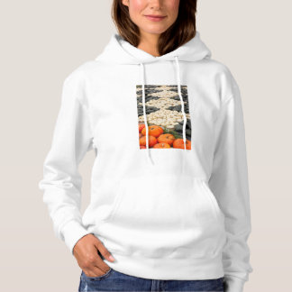 Pumpkin and squash pattern, Germany Hoodie