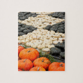 Pumpkin and squash pattern, Germany Puzzle