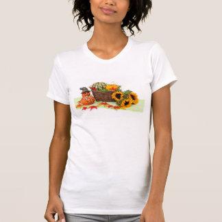 Pumpkin and Sunflowers T-Shirt