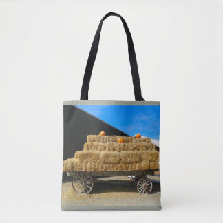 Pumpkin and the Wagon Tote Bag