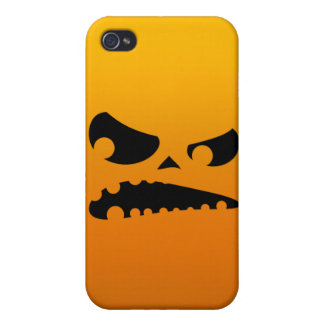 Pumpkin Angry iPhone 4 Cases