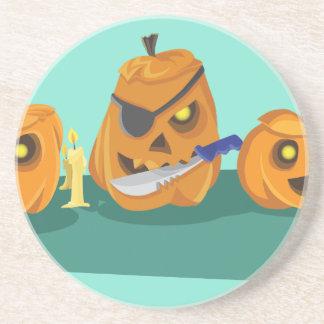 pumpkin beverage coasters