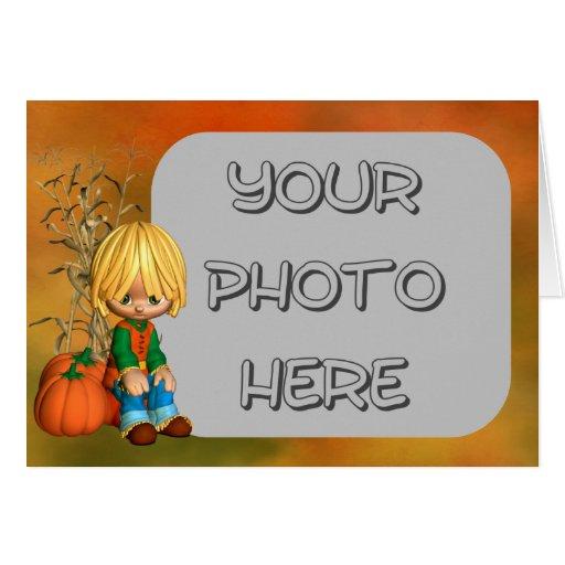 Pumpkin Boy Cards