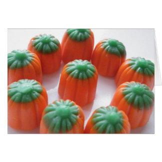 Pumpkin Candy Corn Card