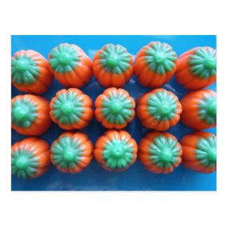 Pumpkin Candy Corn Gifts Post Card