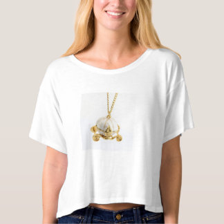 Pumpkin Carriage Top T shirt