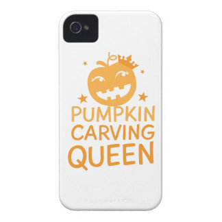 Pumpkin carving QUEEN! Case-Mate iPhone 4 Case