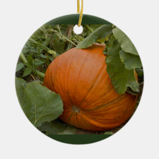 Pumpkin Ceramic Ornament
