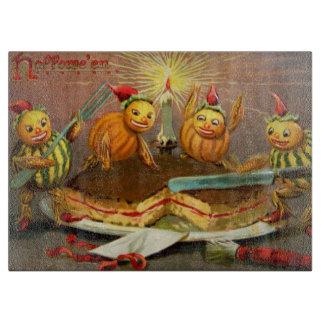Pumpkin Characters Cutting Cake Boards
