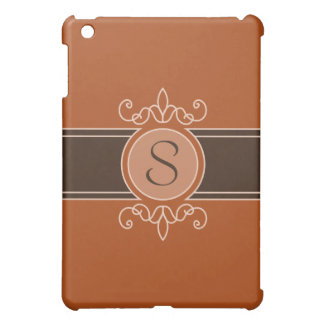 Pumpkin Classic Harvest Monogram  Case For The iPad Mini
