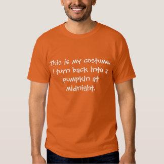 Pumpkin Costume Tee Shirts