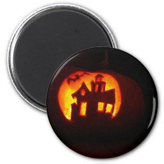 Pumpkin_craft_for_Halloween Magnet