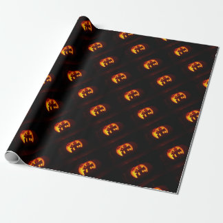 Pumpkin_craft_for_Halloween Wrapping Paper