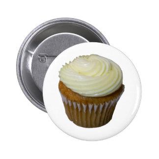 Pumpkin Cupcake 2 Inch Round Button