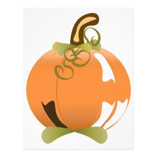 Pumpkin Customized Letterhead