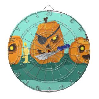 pumpkin dartboard