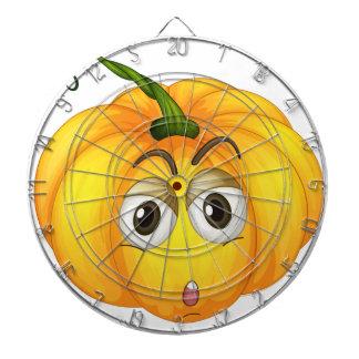 Pumpkin Dartboard With Darts
