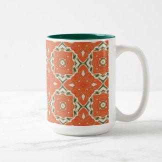 Pumpkin Dreams Two-Tone Coffee Mug