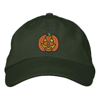 Pumpkin Embroidered Hat