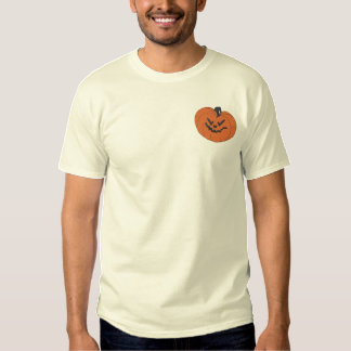 Pumpkin Embroidered T-Shirt