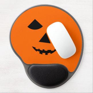 Pumpkin Face Halloween Jack 0 Lantern Gel Mousepad