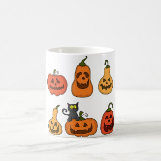 Pumpkin Faces Coffee Mug