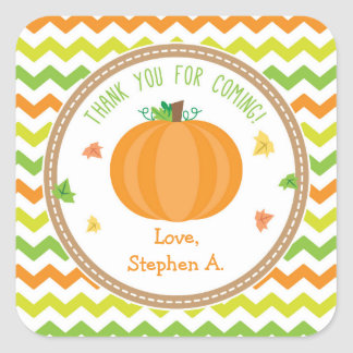 Pumpkin Favor Tags / Pumpkin Stickers