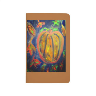 Pumpkin fell art journal